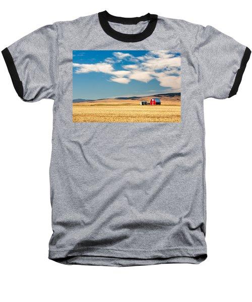 Prairie Red Baseball T-Shirt