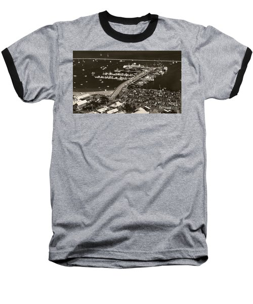 Baseball T-Shirt featuring the photograph Provincetown  by Raymond Earley