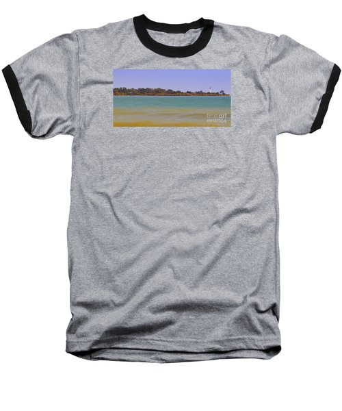Baseball T-Shirt featuring the photograph Racine Lakefront by Ricky L Jones