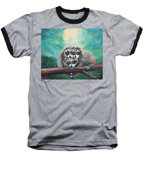 Racoons Baseball T-Shirt