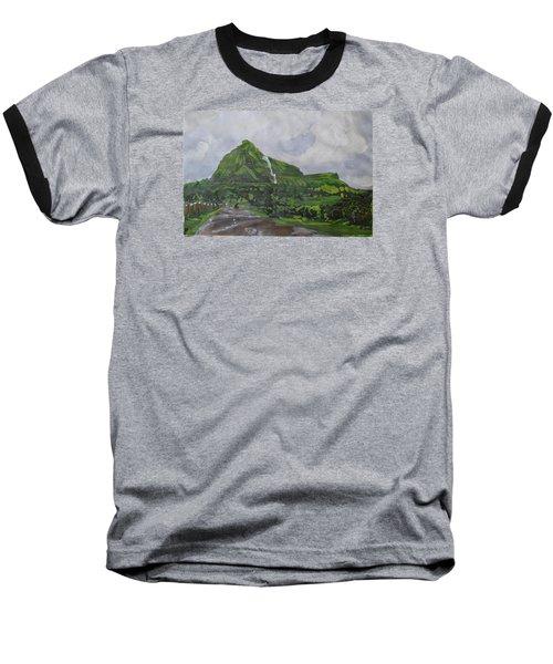 Visapur Fort Baseball T-Shirt by Vikram Singh