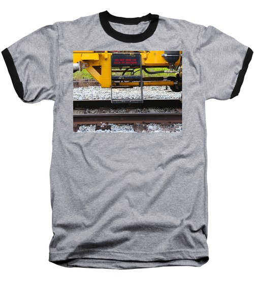 Railroad Equipment Baseball T-Shirt