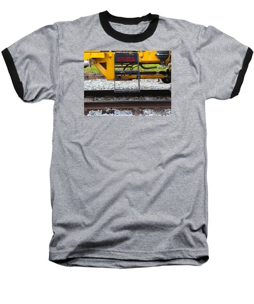 Railroad Equipment Baseball T-Shirt