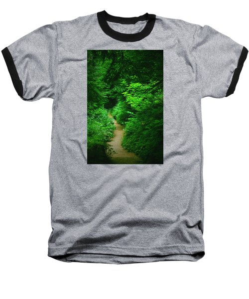 Rain Forest Walk Baseball T-Shirt