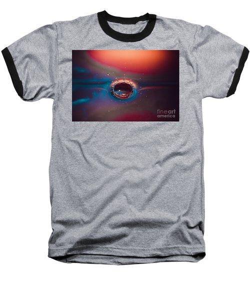 Rainbow Splash Baseball T-Shirt