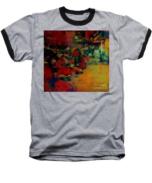 Ranoush Painted Baseball T-Shirt by Kelly Awad