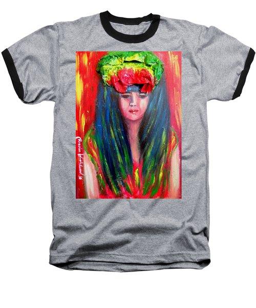 Rasta Girl Baseball T-Shirt
