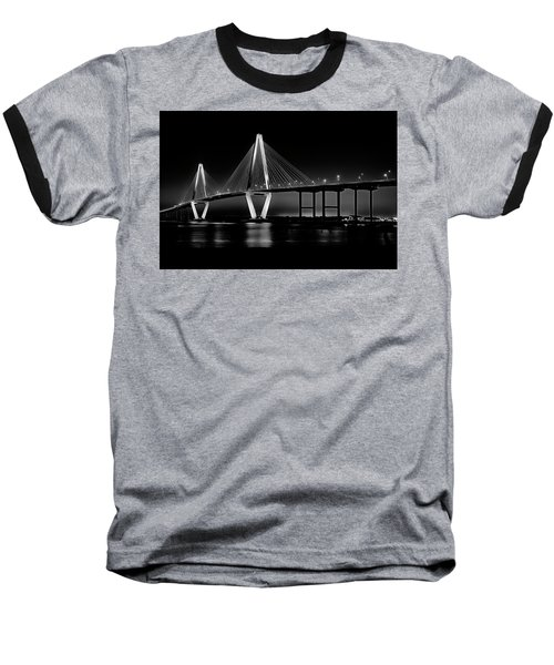Ravenel Bridge Baseball T-Shirt by Bill Barber