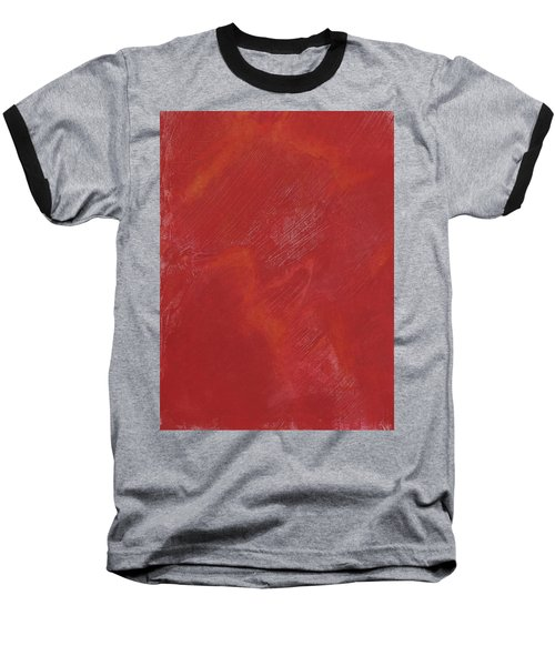 Red Field Baseball T-Shirt