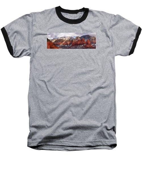 Red Rock Peaks Baseball T-Shirt