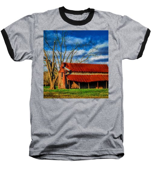 Red Roof Barn Baseball T-Shirt