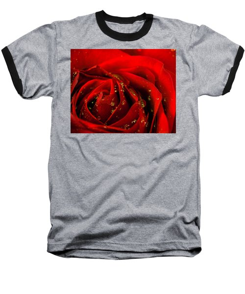Red Rose 2 Baseball T-Shirt