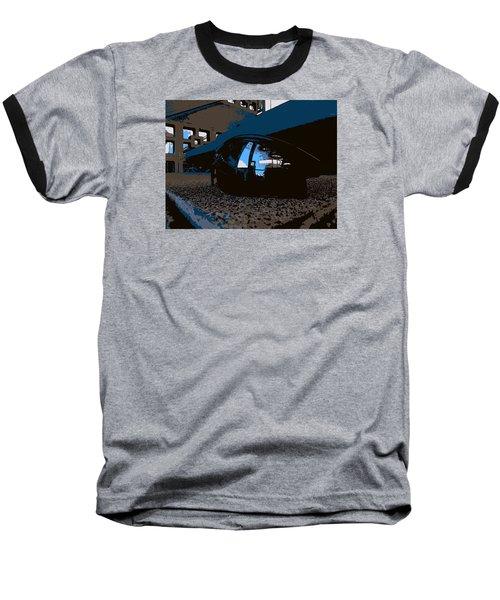 Reflections Baseball T-Shirt by John Rossman