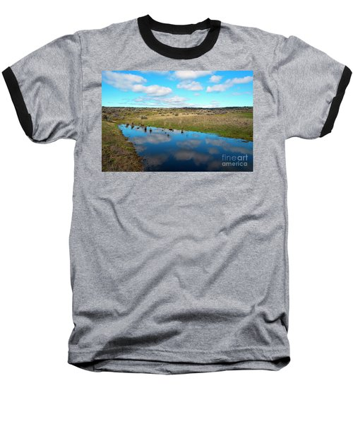 Baseball T-Shirt featuring the photograph Reflections Of Spring by Mike Dawson