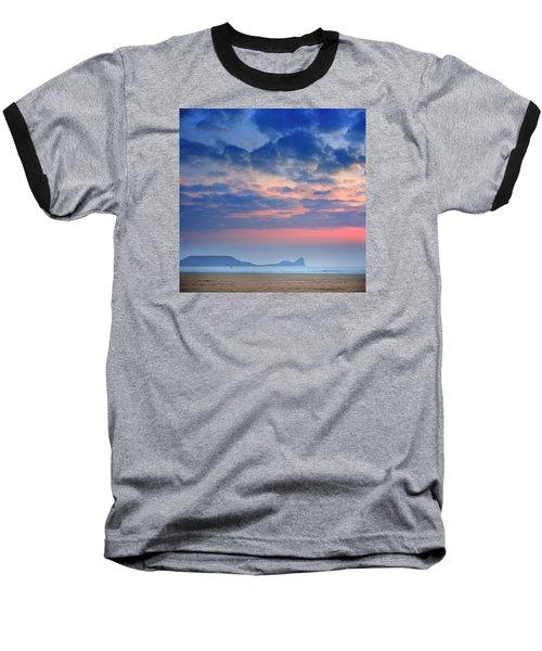 Rhosili 4 Baseball T-Shirt