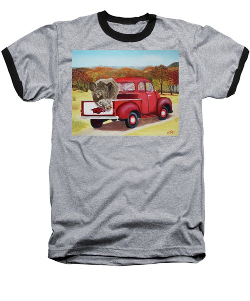 Ridin' With Razorbacks 2 Baseball T-Shirt