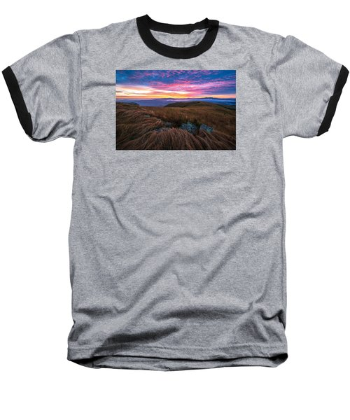 Baseball T-Shirt featuring the photograph Roan Mountain Sunrise by Serge Skiba
