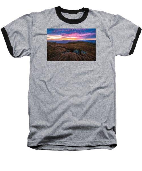 Roan Mountain Sunrise Baseball T-Shirt