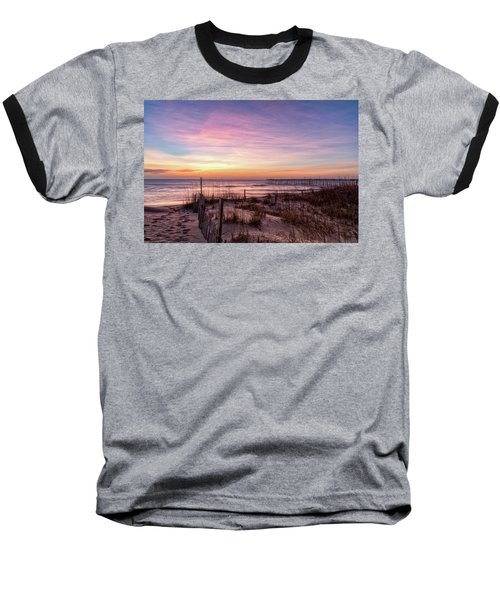 Rodanthe Sunrise Baseball T-Shirt