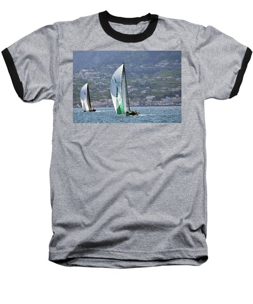 Rolex Capri Sailing Week 2014 Baseball T-Shirt