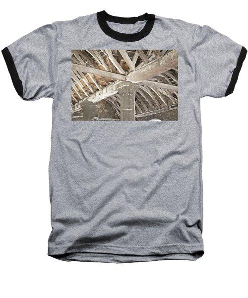 Roof Timber Baseball T-Shirt