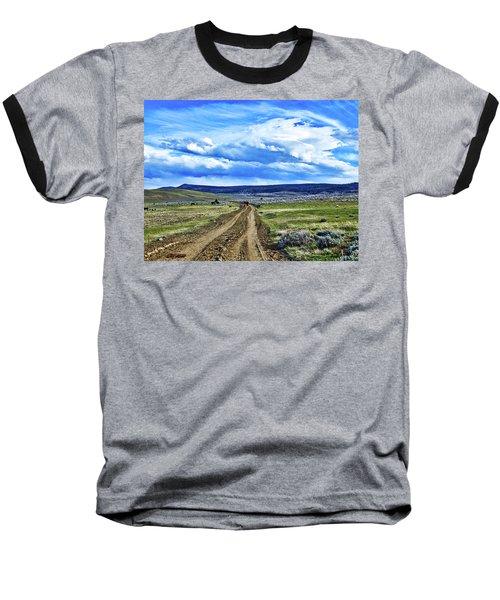 Room To Roam - Wyoming Baseball T-Shirt by L O C
