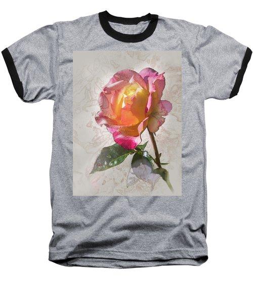 Rosa, 'glowing Peace' Baseball T-Shirt