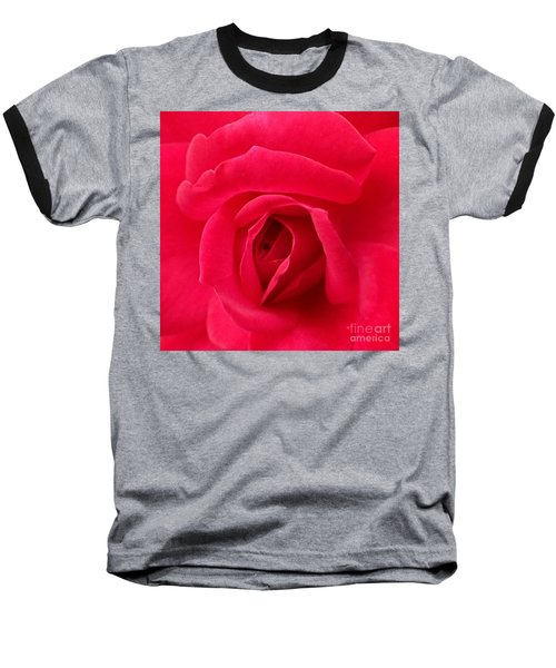 Rose Baseball T-Shirt by A K Dayton