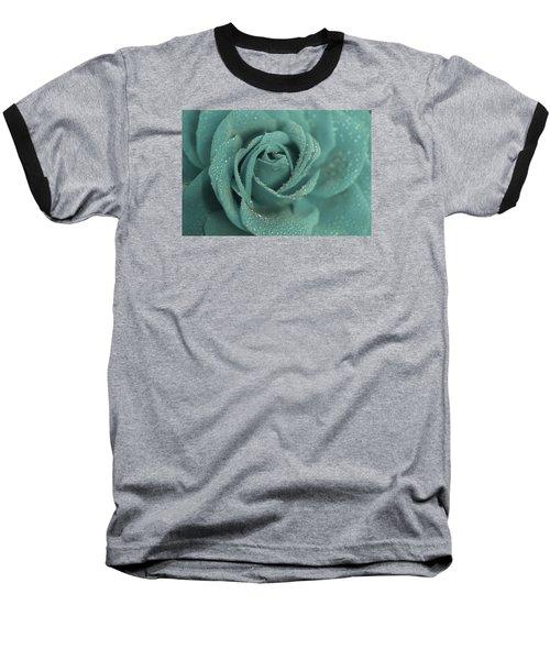Baseball T-Shirt featuring the photograph Rose Of Rain by The Art Of Marilyn Ridoutt-Greene