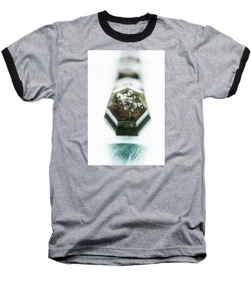 Rosemary Chocolate Baseball T-Shirt by Sabine Edrissi
