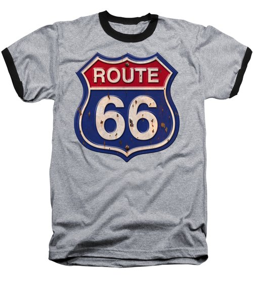 Route 66 Shirt Baseball T-Shirt