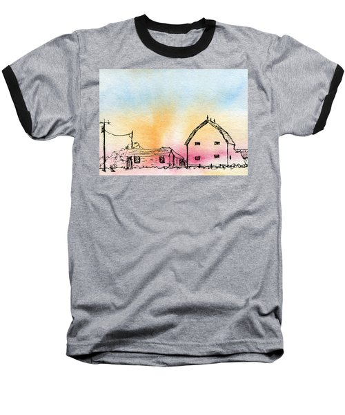 Rural Nostalgia Baseball T-Shirt