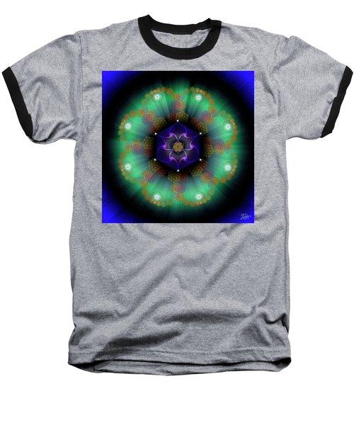 Sacred Geometry 638 Baseball T-Shirt