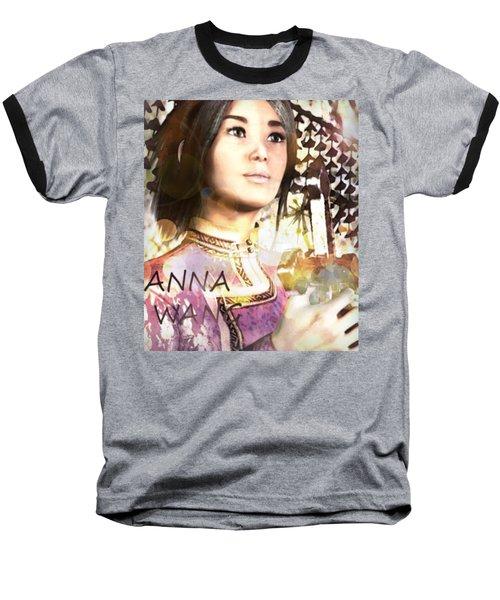 Saint Anna Wang 6 Baseball T-Shirt