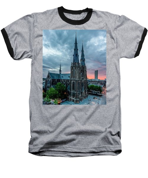 Saint Catherina Church In Eindhoven Baseball T-Shirt by Semmick Photo