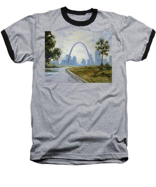 Saint Louis Panorama Baseball T-Shirt