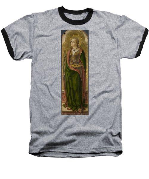 Saint Lucy Baseball T-Shirt