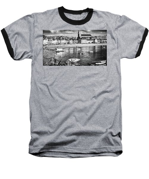 Baseball T-Shirt featuring the photograph Saint Servan Anse by Elf Evans
