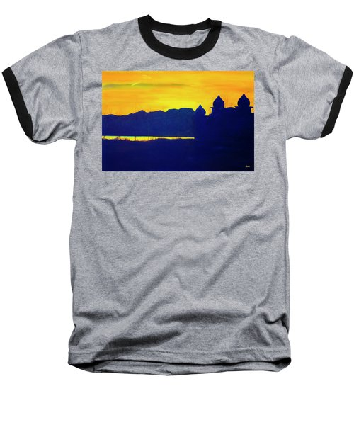 Saltair Sunset Baseball T-Shirt