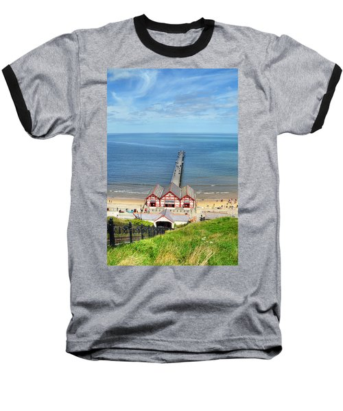 Saltburn Pier Baseball T-Shirt