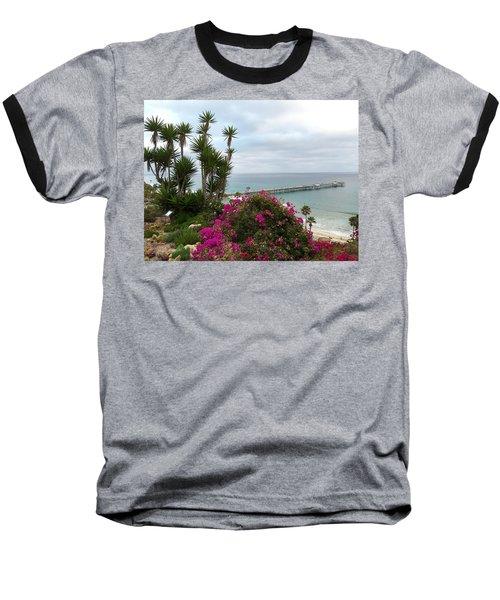 San Clemente Pier Baseball T-Shirt
