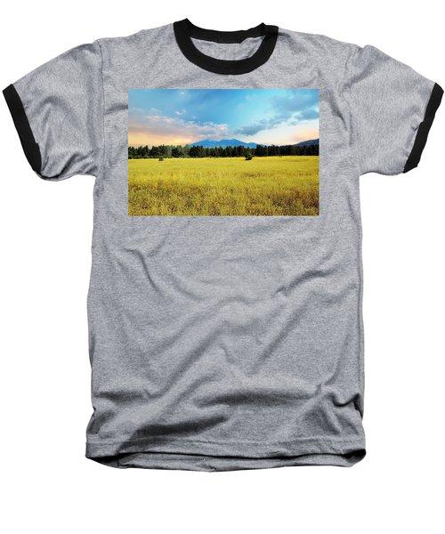 San Francisco Peaks  Baseball T-Shirt