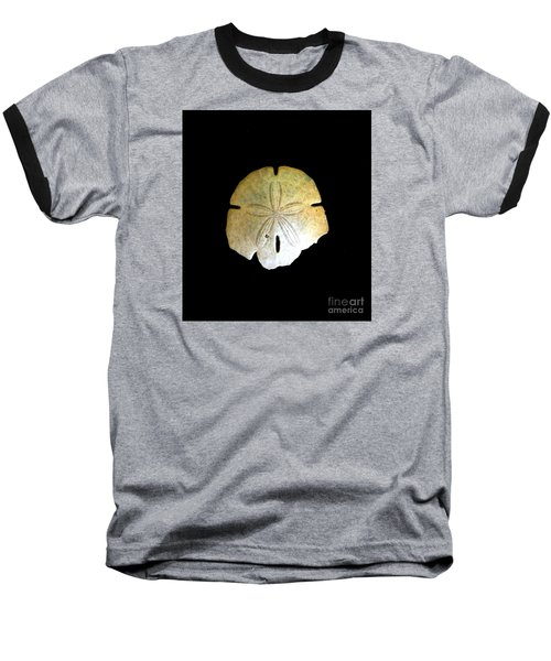 Sand Dollar Baseball T-Shirt by Fred Wilson