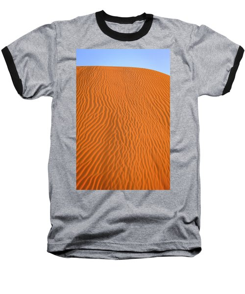 Baseball T-Shirt featuring the photograph Sand Pattern by Alexey Stiop