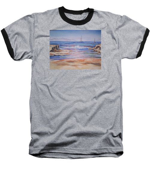 Santa Cruz Baseball T-Shirt by Becky Chappell