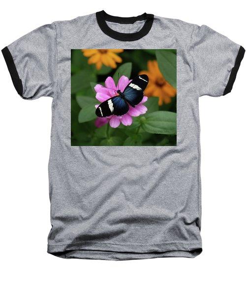Sara Longwing Butterfly Baseball T-Shirt