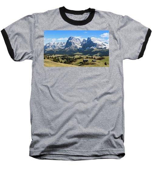 Sasso Lungo And Sasso Piatto Baseball T-Shirt