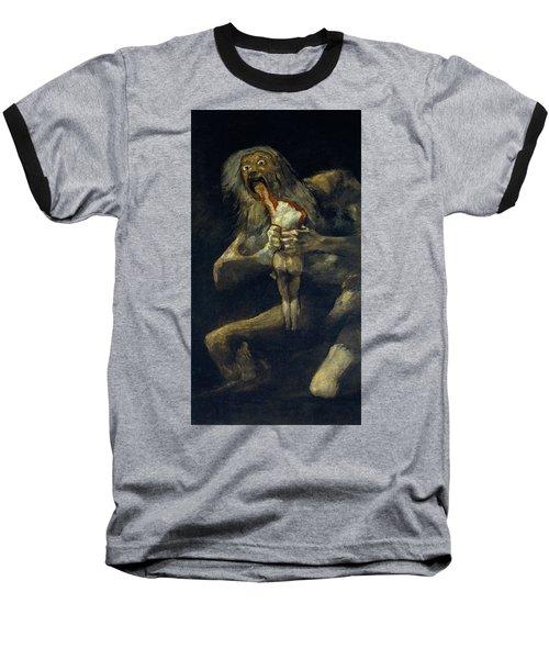 Saturn Devouring His Son Baseball T-Shirt