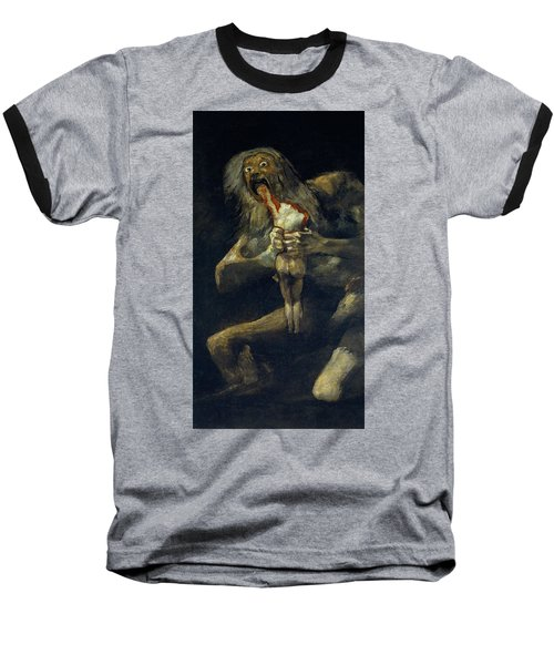 Saturn Devouring His Son Baseball T-Shirt