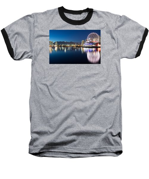 Science World Vancouver Baseball T-Shirt by Sabine Edrissi